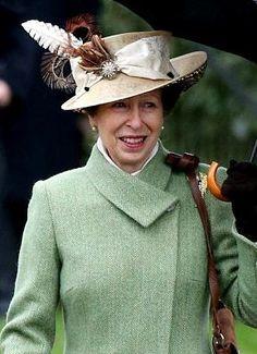 Princess Anne, December 25, 2015 | Royal Hats