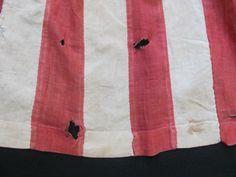 Super RARE Original Civil War Era Patriotic Flag Apron C 1861 1865 | eBay