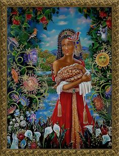 Black women protecting what's precious in the world, standing strong for a humanitarian world. Web Gallery, Oil Painters, Prints For Sale, Art Oil, Black Women, Fine Art Prints, African, Strong, Paintings