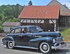 Opel Kapitän, Baujahr 1951
