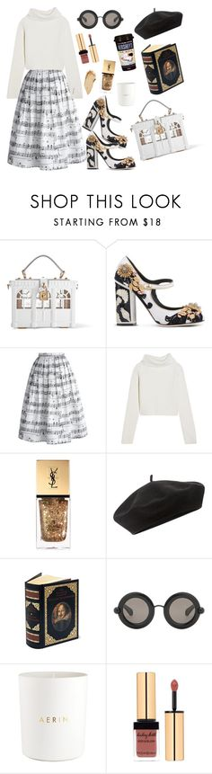 """""""Artsy"""" by peachgirl100 ❤ liked on Polyvore featuring Dolce&Gabbana, Chicwish, Haider Ackermann, Yves Saint Laurent, Accessorize, Hershey's, Christopher Kane, Estée Lauder and Urban Decay"""
