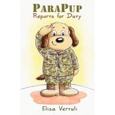 PARAPUP REPORTS FOR DUTY - Is Daddy away on an assignment in the military? Whether he is on an extended deployment or just on temporary duty, ParaPup is ready for action! He is skilled in many tasks. ParaPup can deliver secret messages or drawings to Dad and bring back special notes. He is excellent at pulling guard duty, so you feel safe when you go to sleep at night. And he loves to snuggle when you're missing Dad or just feeling a little sad. Ages 2-6…