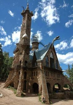 Bishop Castle in Pueblo, Colorado