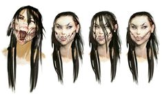 Mileena Face Concepts