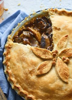 Rich mushrooms, ale-spiked gravy, and flaky pastry. This vegan pie is the comfort food you need to see you through the winter.