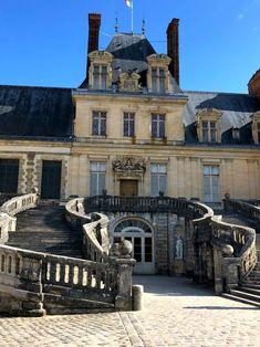 A day trip to the Chateau de Fontainebleau from Paris - pints, pounds, & pâté Paris Travel Tips, Venice Travel, Vacation Places, Vacation Spots, Greece Vacation, Dream Vacations, Day Trip From Paris, French Castles, French Architecture
