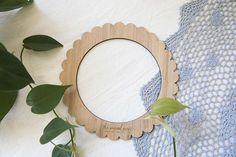 Small Round Bamboo Weaving Loom  20cm 7.9inch diameter