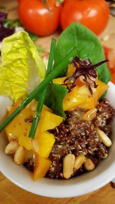 Red Quinoa & Butternut-Kürbis-Salat