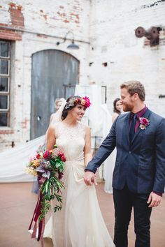 Izzy Hudgins Photography | Bridal Musings Wedding Blog Beautiful color scheme incorporated throughout