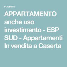 APPARTAMENTO anche uso investimento - ESP SUD - Appartamenti In vendita a Caserta