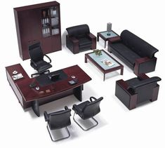 Benefits of Used Office Furniture – Luxury Office Designs Law Office Design, Law Office Decor, Office Table Design, Modern Office Design, Ceo Office, Office Plan, Office Set, Executive Office Furniture, Office Furniture Design