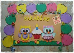 Classroom Birthday, Birthday Board, Birthday Charts, Classroom Posters, Preschool, Birthdays, Boards, Nursery, Education
