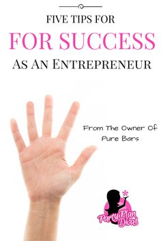 Five tips for success as an entrepreneur from the owner of Pure Bars. Business Advice, Online Business, Business Quotes, Leadership, Fun Awards, Direct Sales Companies, Discovery Toys, Best Entrepreneurs, Sales Tips