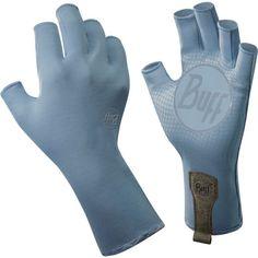 Buff Men's Sport Series Water 2 Gloves, Size: Medium/Large, Blue