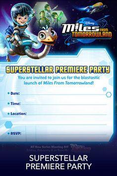 Premiere Party Invitations