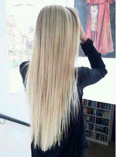 Blonde hair goals