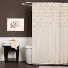 Walmart-Lush Decor Lucia Shower Curtain