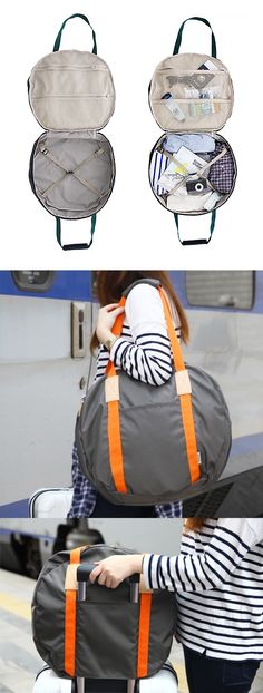 So Light but still durable Round Bag, Perfect carry on bag for your trip!