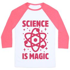 Science Is Magic - This science shirt is great for all chemistry majors, stem students and biology nerds who know that science is magic! So celebrate, wizards, this nerd shirt is perfect for fans of chemistry shirts, science memes and science quotes. Funny Chemistry Quotes, Chemistry Shirts, Chemistry Humor, Science Shirts, Science Quotes, Funny Quotes, Nerd Shirt, T Shirt, Stem Students