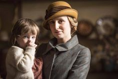 Lady Edith and daughter