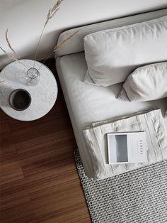 Scandinavian living room vignette via Kvarteret Makleri