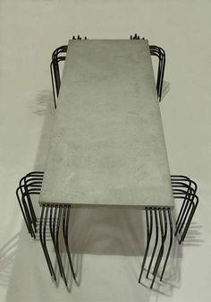 rafael gomez: concrete coffee table - designboom