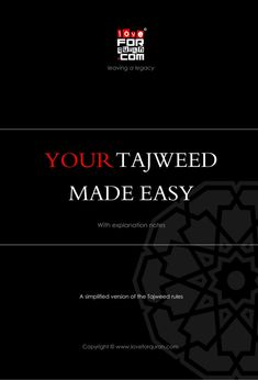 Your tajweed made easy pdf