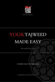 Your tajweed made easy pdf