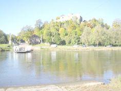 Polle : Weserfähre bei Burg Polle