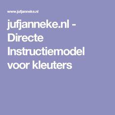 jufjanneke.nl - Directe Instructiemodel voor kleuters