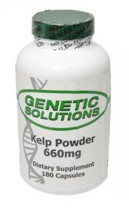 Kelp Powder, 180 Capsules, 660mg, Weight Loss Supplement By Genetic Solutions by Kelp Powder. Save 66 Off!. $10.14. Suggested Use: Take 1 capsule daily, preferably with food. Perfect for any Anti-Aging regimen. All Natural Kelp Powder. Recommended by Health Care Herbalists. Supports Healthy metabolism and Weight loss. Genetic Solutions Sea Kelp Powder (180 Capsules, 660mg) - The benefits of kelp are widely used for your health and kelp benefits are also used in beauty products.   Kel...