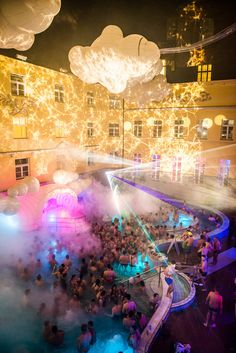 We turn historic thermal baths of Budapest into amazing party venues. Book your tickets here for an unforgettable bath party in Budapest!
