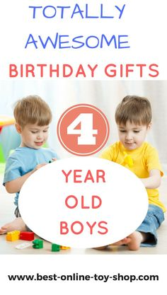 Best Toys For 4 Year Old Boy 2018 Diy Gifts Kids Birthday
