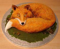 "Fox Cake- Детский торт ""Лисичка"""