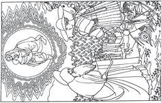 art coloring pages renaissance - photo#19