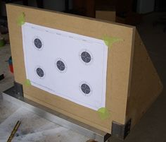 DIY Air Rifle Pellet Trap