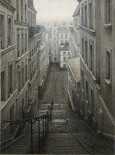 Alexei Butirskiy - Early Evening in Montmarte