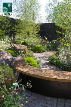 RHS Chelsea Flower Show - Show Garden - Vital Earth The Night Sky Garden Bord Na Móna Harry Rich & David Rich