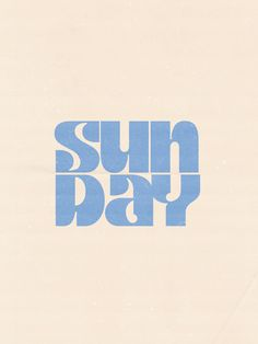 sun day Art Print