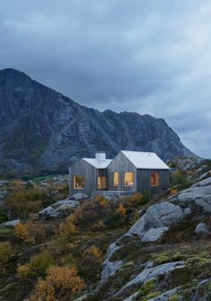 Le cabinet d'architecture Kolman Boye basé à Stockholm, signe cette maison…