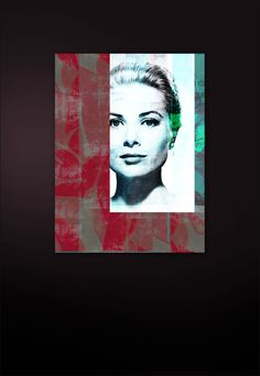 Acrylic coated Fine Art C-Print Paper Patchwork Collage (multi-layered) Size: 120 cm x 90 cm Certified and signed Pop Art, Collage, Print Paper, Art Series, Grace Kelly, Online Art Gallery, Fine Art, Interior, Floral