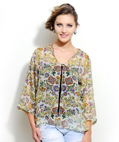 Floral #Kaftan http://www.mydesignersales.com/designers-2/corsage/printed-kaftan-by-corsage.html
