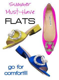 fashion, accessories, designer shoes, Summer flats