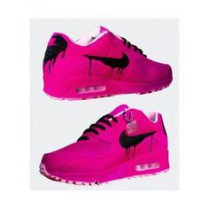 best service 52e3b 99266 Chaussures De Sport Nike Air Max 90 Candy Drip Rose Noir Boutique En Ligne