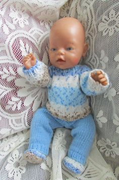 Items similar to Knitted dolls clothes on Etsy American Doll Clothes, Baby Born, Knitted Dolls, Double Knitting, Girl Dolls, American Girl, Beige, Kids, Etsy