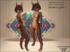 -KW- Kemono/Paws ~Lynx *Brown* mod