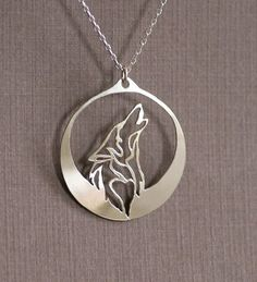 Howling Wolf Necklace Item Type: Necklaces Fine or Fashion: Fashion Pendant Size: 31.8x28.6mm Style: Romantic Necklace Type: Pendant Necklaces Gender: Women Material: None Chain Type: Link Chain Lengt