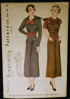 Simplicity 1525 (1934)
