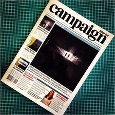 Day 073: We're on the front cover of @CampaignME #mb365