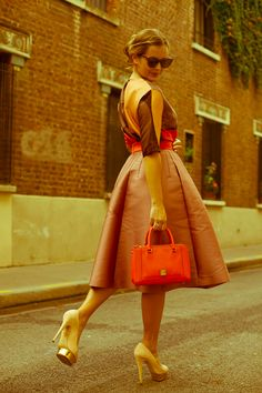 Great vintage outfit, spotted on josieloves.de